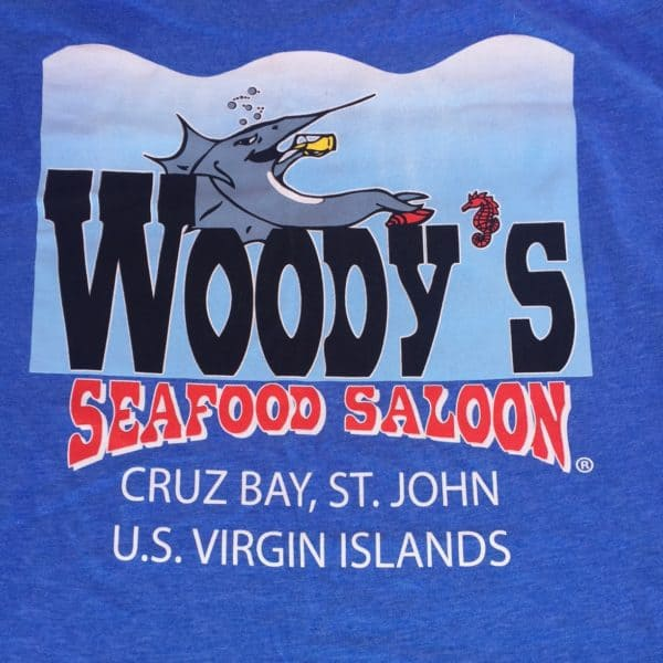 Woodys original logo blue